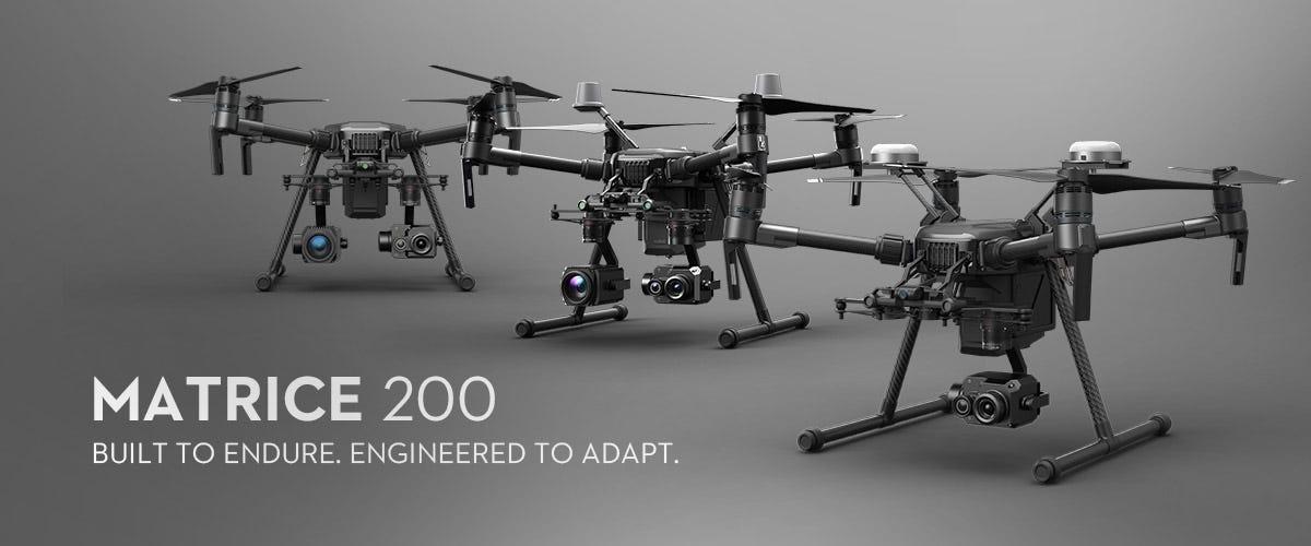 Compare DJI Matrice Drones - Matrice 200, 210,210 RTK & 600